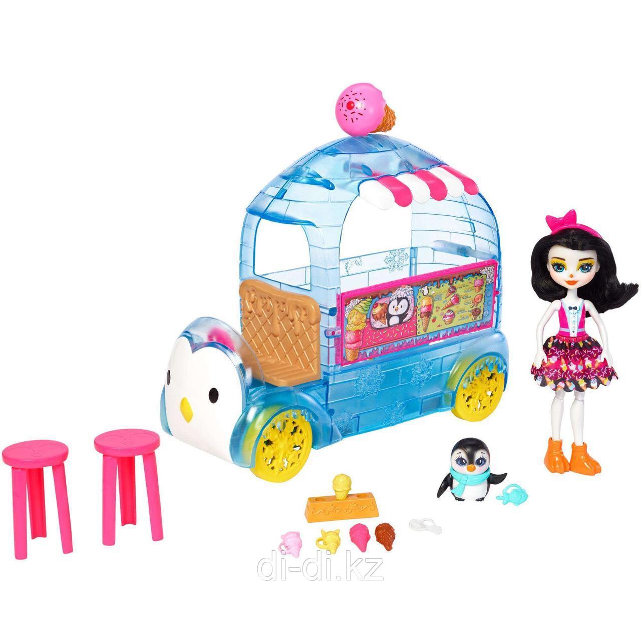 Игровой набор Enchantimals - Фургончик мороженого Прины Пингвины