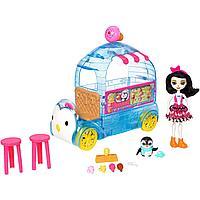 Игровой набор Enchantimals - Фургончик мороженого Прины Пингвины, фото 1