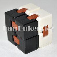 Игрушка антистресс Infinity Cube Инфинити Куб черно-белый