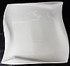 Тарелка волна диаметр 20 см ,костяной фарфор