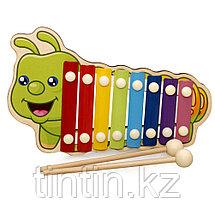 Детский ксилофон 8 нот (дерево, метал), фото 2