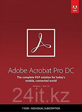 Acrobat Pro DC for Team Multiple Platforms Multi European Languages New Subscription 12 months
