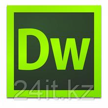 Dreamweaver CC for Teams Multiple Platforms Multi European Languages New Subscription 12 months