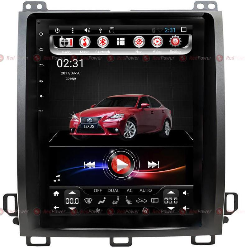 Штатная магнитола для Lexus GX470 2002-2009 - Redpower 31470 TESLA