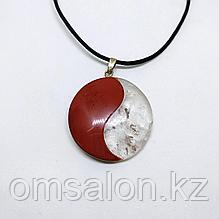 Амулет из натуральных камней Инь Янь