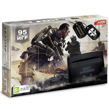 Игровая Приставка Sega Super Drive Advanced Warfare (95в1) Черная