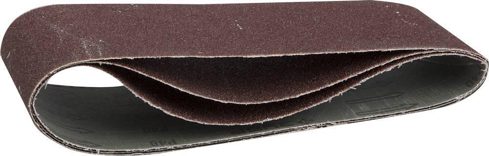 """(35543-080) Лента шлифовальная универсальная ЗУБР """"МАСТЕР"""" бесконечная на тканевой основе, для ЛШМ, 100мм"""