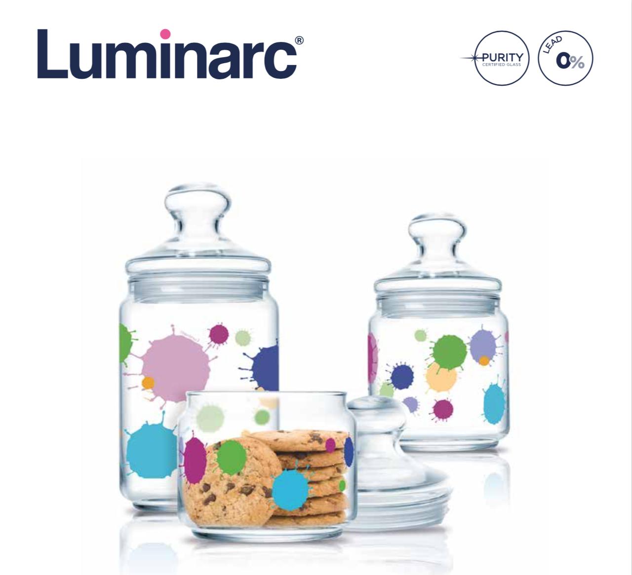 Набор банок Luminarc Splash 3пр.