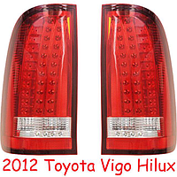 Задние альтернативные фонари на Hilux 2004-15