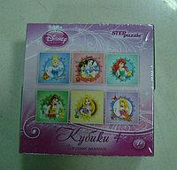 Кубики 4 элемента Дисней принцессы