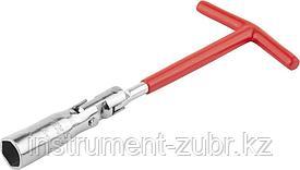 Ключ свечной DEXX с шарниром, 16мм