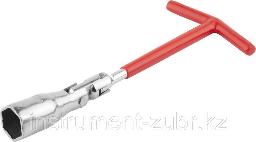 Ключ свечной DEXX с шарниром, 21мм                                                                                                                    , фото 2