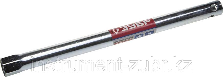 """Ключ свечной ЗУБР """"МАСТЕР"""" трубчатый, торцовый с резинкой, 280мм, 16мм                                                                                , фото 2"""