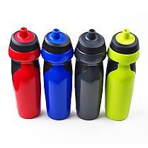 Спортивная бутылка ,фляга, шейкер для воды, протеина, вело фляга NIKE 700мл, фото 3