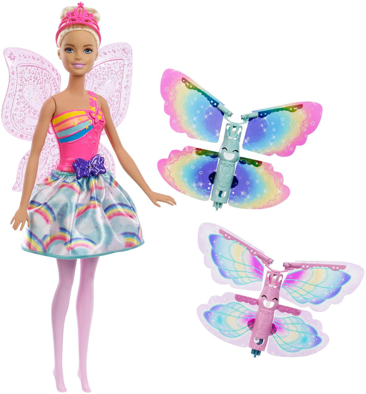 "Barbie ""Дримтопиа"" Кукла Барби Фея с волшебными крыльями"