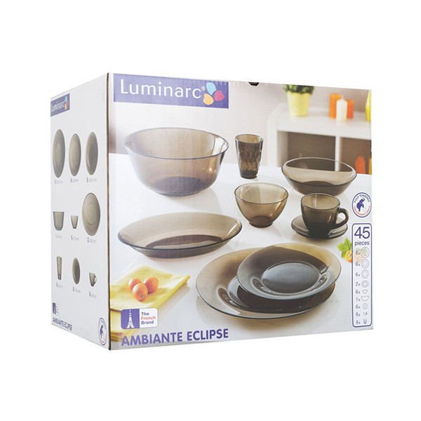 Столовый сервиз Luminarc Ambiante Eclipse 45 пр.
