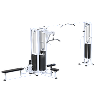 Блочная станция с кроссовером (стек 4х100кг) (KAR091х4х100)