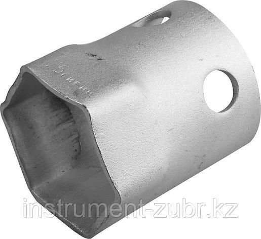 Ключ гаечный торцовый трубчатый СИБИН, 75мм, фото 2