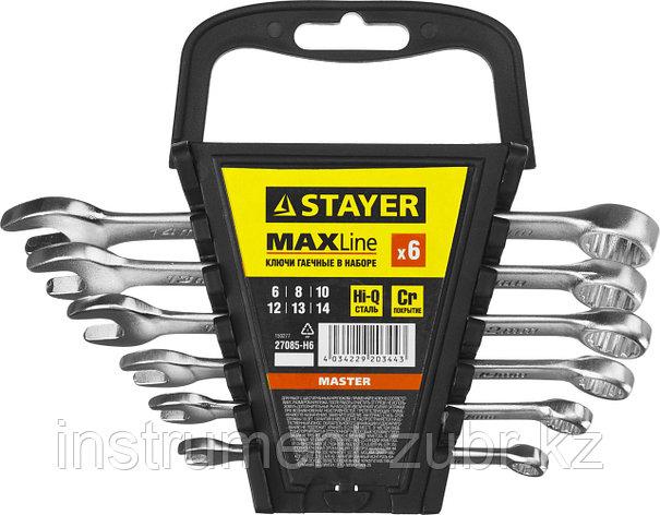 Набор комбинированных гаечных ключей 6 шт, 6 - 14 мм, STAYER, фото 2