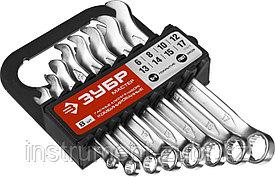 Набор комбинированных гаечных ключей 8 шт, 6 - 17 мм, ЗУБР