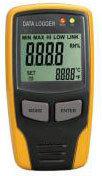 AMT-116 Портативный Регистратор Температуры и Влажности (DATA LOGGER) с LCD дисплеем и ЗАМКОМ, фото 1