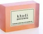 "Натуральное мыло ""Розовая вода"" Кхади (Khadi Rose Water Soap)"