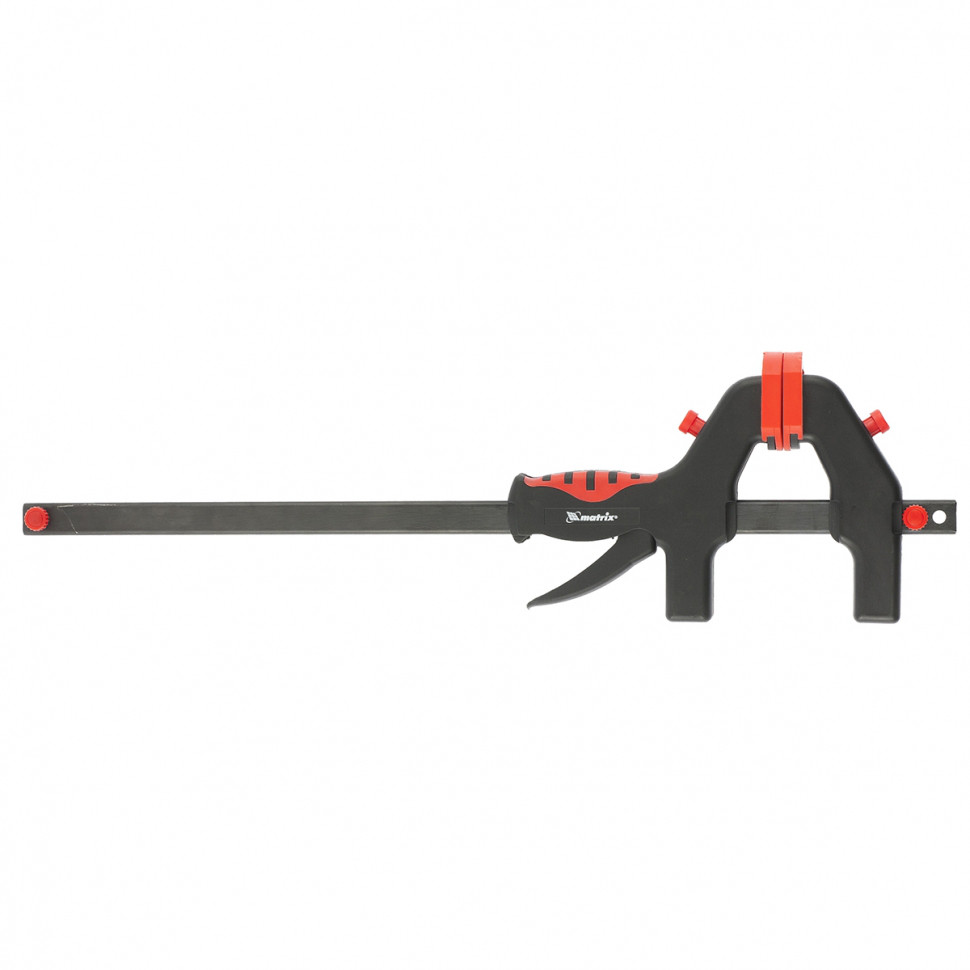 (20545) Струбцина универсальная F-образная, 450 х 765 х 90 мм, пластмассовый корпус// MATRIX