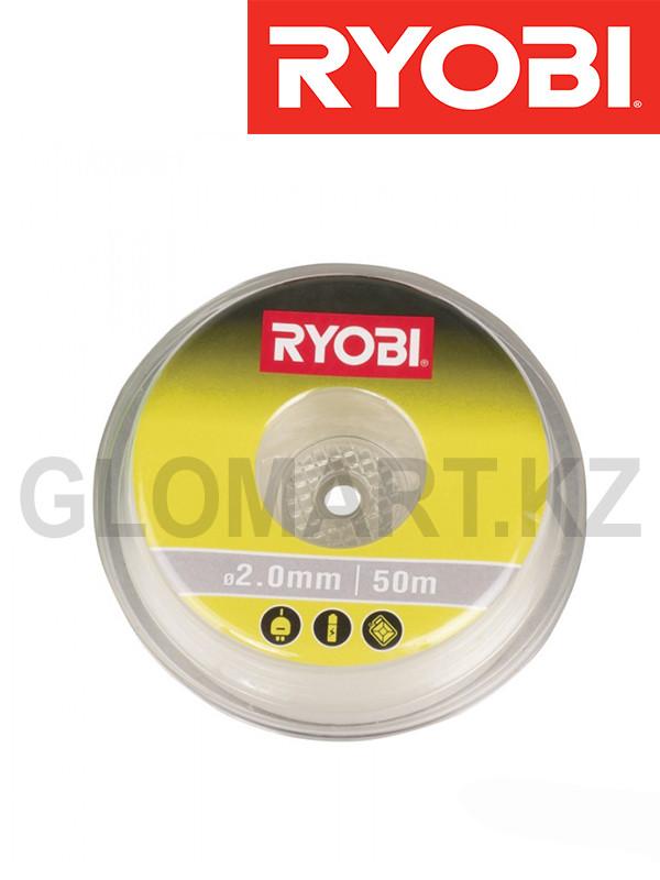 Леска для триммера Ryobi RAC103, 2.0 мм, 50 м (Риоби)