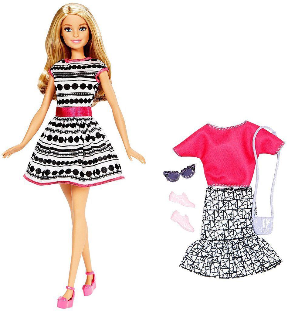 Barbie Кукла Барби Блондинка, 2 наряда