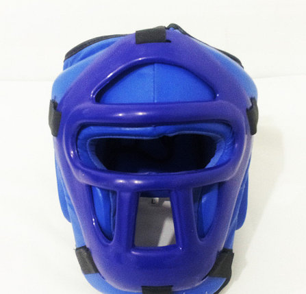 Шлем защитный для каратэ закрытый, фото 2
