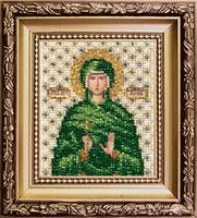 Набор для вышивки бисером Чарівна Мить Б-1134 Икона святая мученица Марина