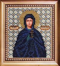 Набор для вышивки бисером Чарівна Мить Б-1066 Икона святая мученица Иулия (Юлия)