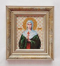 Набор для вышивки бисером Чарівна Мить Б-1026 Икона святая мученица Дарья