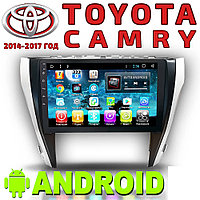 Автомагнитола AutoLine Toyota Camry (2014-2017) Android 8, фото 1