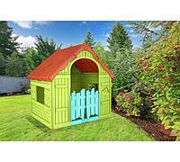 Детский игровой домик Foldable Keter  зеленый, фото 1