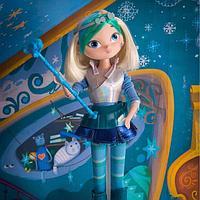 Кукла из серии Magic СНЕЖКА (Сказочный патруль, Россия), фото 1