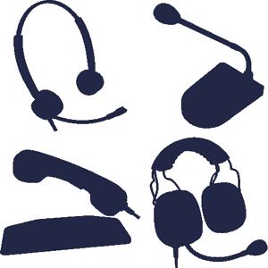Профессиональные гарнитуры и микрофоны