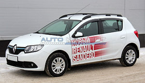 Рейлинги Renault Sandero 2014-
