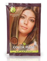 Травяная краска COLOR MATE Hair Color 9.2 натуральный коричневый