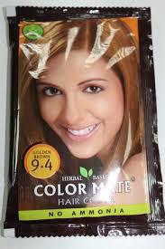 Хна для волос , Color Mate, цвет 9.4