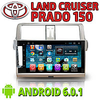 Автомагнитола AutoLine Land Cruiser Prado150 рестайл.2013+. Android., фото 1