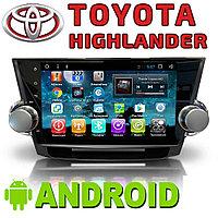 Автомагнитола AutoLine Toyota Highlander. Android.