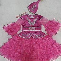 Казахское национальное платье с баской , фото 1