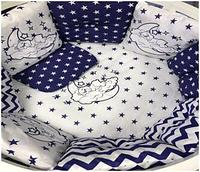 """Комплект в кроватку """"Соння"""" 7 предметов  (для прямоугольной кроватки)"""