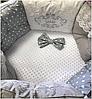 """Комплект в кроватку """"Грация"""" 11 предметов  (для круглой-овальной кроватки)"""