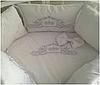 """Комплект в кроватку """"Веньзельки"""" 7 предметов  (для прямоугольной кроватки)"""