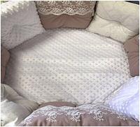 """Комплект в кроватку """"Детки-конфетки"""" 9 предметов  (для круглой-овальной кроватки)"""