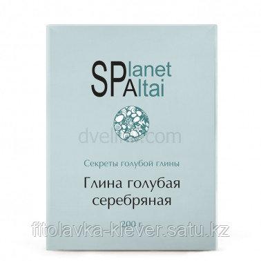 Planet SPA Altai голубая глина Серебряная