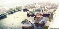Общежитие из морских контейнеров для студентов в Копенгагене!