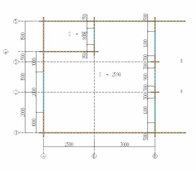 план проекта деревянного дома